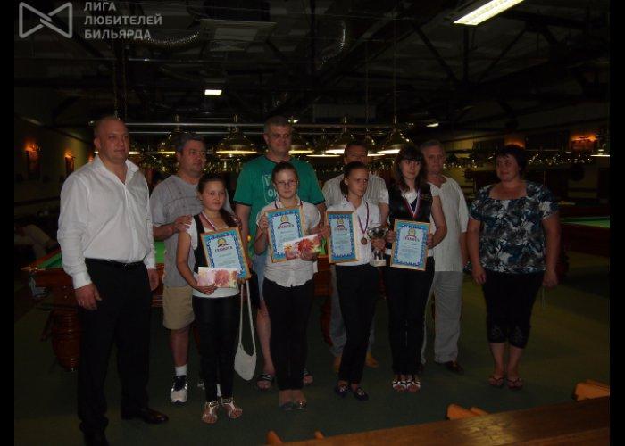 Юная крымчанка победила в российском турнире по бильярду