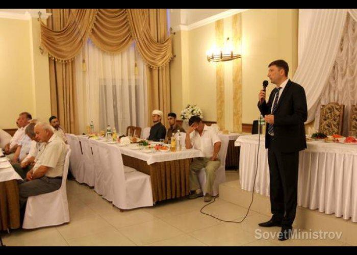 В Симферополе провели праздничный ифтар