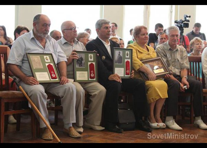 В Крыму провели акцию «Вернуть награду в семью героя»