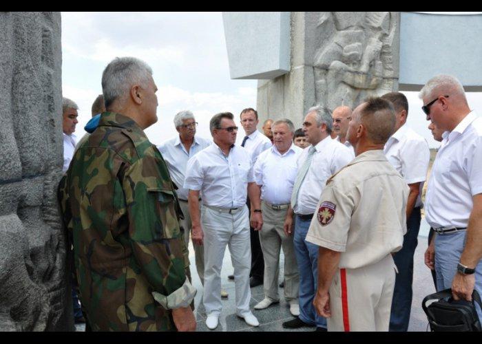 Представитель Президента РФ с рабочим визитом посетил Сакский район
