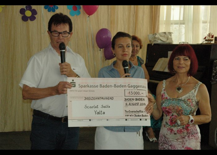 Социальный центр Ялты получил 13 тыс. евро от жителей немецкого города