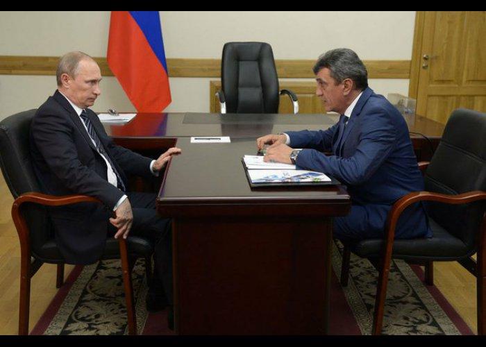 Путин встретился с главами Крыма и Севастополя