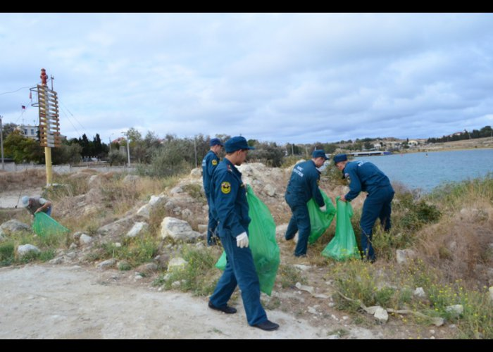 В Севастополе завершилась акция «Чистый берег»