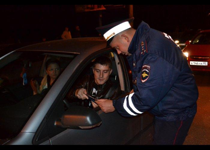 За два дня в Крыму поймали 17 пьяных водителей