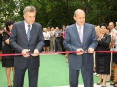 В Симферополе открыли реконструированный детсад