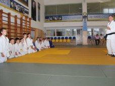 Константинов провел для юных спортсменов тренировку по дзюдо