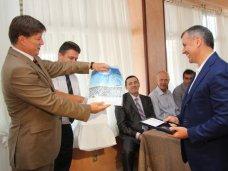 Награда, Спикеру вручили орден за заслуги перед спортобществом «Динамо»