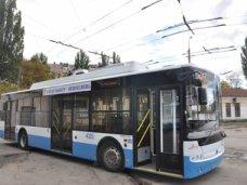 В Симферополе в честь города-побратима назвали троллейбус