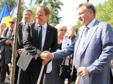 В Симферополе заложили аллею дружбы городов-побратимов