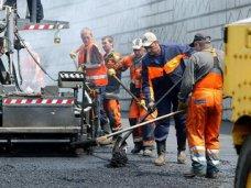 Возле железнодорожного вокзала Симферополя отремонтировали дорогу