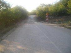 В Бахчисарайском районе отремонтировали дорогу, пострадавшую от оползней