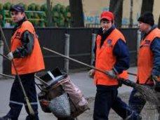 Чистый город, В Симферополе наладили график дежурств дворников