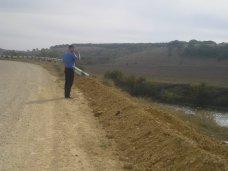 Под Симферополем завершается ремонт автодороги Урожайное – Живописное
