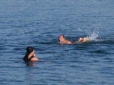 Плаванье, Севастополец Олег Софяник проплыл со связанными руками