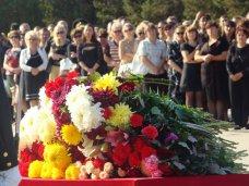 Происшествие, В Севастополе попрощались с погибшими летчиками российского самолета