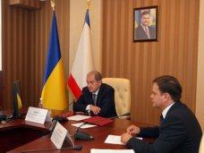 Видеосвязь Совмин, Могилев предложил коммунальным СМИ Крыма регулярно проводить видеоконференции