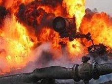 транс-континенталь, Самовольный пуск газа в одном из сел Крыма привел к пожару