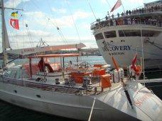 В Севастополь из кругосветной экспедиции прибыла яхта «Скорпиус»