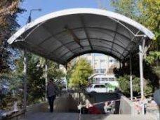 Пешеходный переход, В Симферополе реконструировали переход на Севастопольской