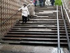 Пешеходный переход, Ремонтировать переходы в Симферополе будут еще год