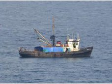 Происшествия на воде, У берегов Донузлава затонул рыболовецкий сейнер