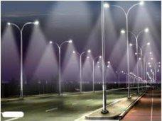 В поселке под Евпаторией установили светодиодные светильники для улиц