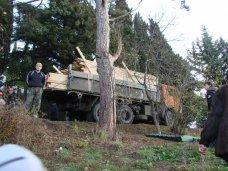 Земля, Прокуратура считает незаконным выделение земли на Поликуровском холме в Ялте