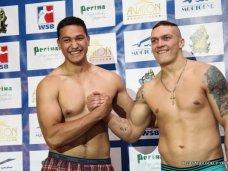 Усик, Олимпиец из Крыма сразится с английским боксером