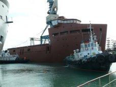 Керченский завод «Залив», В Керчи спустили на воду новые суда