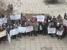 В Ялте прошел митинг в поддержку местной службы скорой помощи