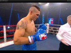 Усик, Крымский олимпиец победил немецкого боксера техническим нокаутом