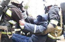 В Симферопольском районе спасатели провели учения
