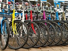 К лету в Ялте установят шесть велопарковок