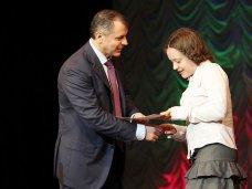 Награда, наградные листы, Константинов наградил победителей олимпиады по русскому языку
