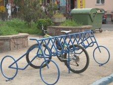 На вокзале Симферополя открыли велопарковку