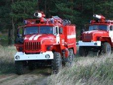 Пожароопасность, В Алуште прошли учения по защите леса от пожара
