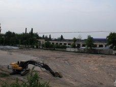 Стадион, В Симферополе начали строить новое футбольное поле