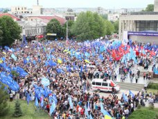 антифашистский фронт, В Крыму антифашистский митинг собрал 22 тысячи человек