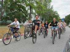 «Велодень» в Феодосии собрал сотню велосипедистов