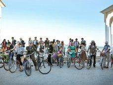 велосипед, В Евпатории прошел первый ретро-велозаезд