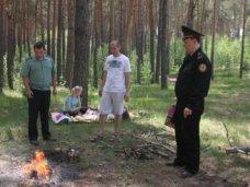 Пожар, В Алуште 10 туристов оштрафовали за нарушение правил посещения леса