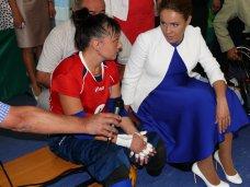 инвалиды, Министр соцполитики Украины посетила Евпаторию