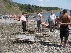 Зеленый мыс пляж, Скандальный застройщик пляжа в Алупке дружит с Кличко