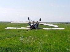 Экстренная посадка самолета, На рисовом поле в Крыму перевернулся «кукурузник»