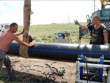 Вода Феодосия, В Феодосии идет реконструкция водовода «Очистные – Приморский»