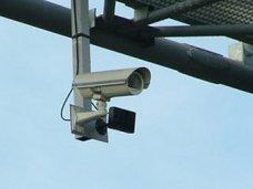 В Алуште рекламный щит перекрыл видимость для камеры ГАИ
