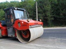 Ремонт дорог, Реконструкцию 5 км ялтинской трассы закончат к октябрю