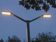 В Алуште введен «осенний» режим наружного освещения