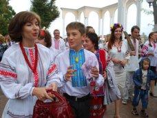 Акция, В Евпатории прошел марш в вышиванках