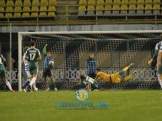 Футбол, «Севастополь» упускает победу в Полтаве